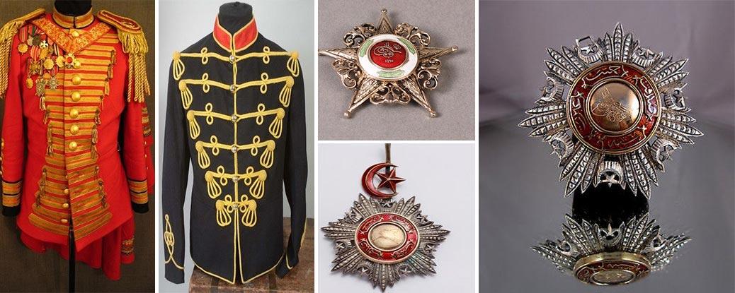 Eski Askeri Malzeme Madalyon Alanlar